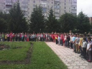 "Read more about the article Відкриття табору ""Ромашка"""